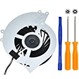 BAY Direct Replacement CPU Cooling Fan for Sony Playstation 4 PS4 CUH-1001A CUH-11XX CUH-1000 CUH-1000AB01 CUH-1000AB02 500GB KSB0912HE Series +Tool Kit