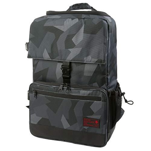 HEX Backloader DSLR Backpack, Glacier Grey Camo, with Back Loading, Tripod Straps and...