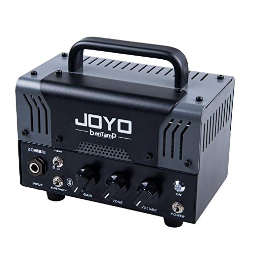 JOYO Bantamp Zombie (MesaBoogie Sound) Dual Channel Hybrid Guitar Amplifier Tube Head with Bluetooth for Electronic Guitar 20 Watt Preamp