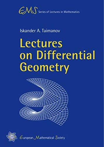 Lectures on Dfferential Geometry (Ems Series of Lectures in Mathematics)