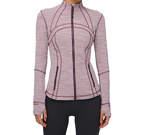Lululemon Define Jacket (Wee Are From Space Frosted Mulberry Black Currant, 6)