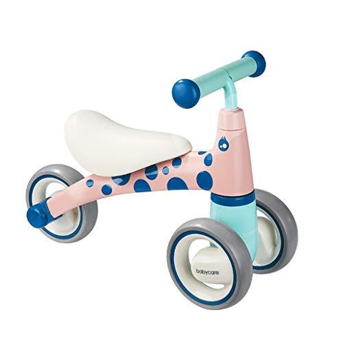 GYF Edad Bike Balance Niño Y Niña con Triciclo Bebé De Juguete Vespa Niños Triciclo Walker Sin Pedal De Los Niños (Color : Pink)