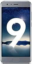 "Honor 9, Smartphone Dual SIM, Schermo 5.15"", 64GB ROM, 6GB RAM, LTE, Full HD, Android, Grigio"