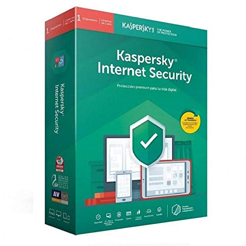 Kaspersky Antivirus, KIS 2020 Internet Security, 1 Licencia