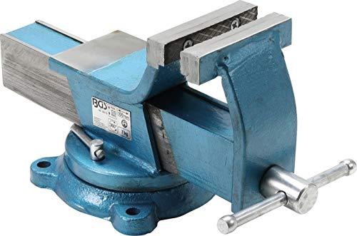 BGS 59110   Tornillo de banco de acero   forjado   mordazas 100 mm