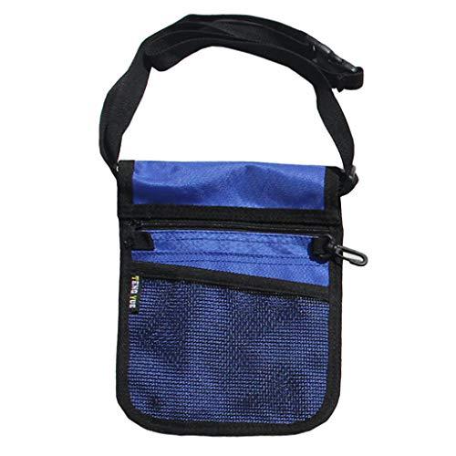 P Prettyia Tragbare Werkzeugtasche Taille Tasche Werkzeug Gürteltasche Tasche Halter Fall Hüfttasche mit abnehmbarer Gürtel