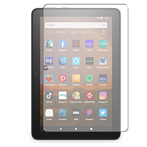 Vaxson Pack of 3 Screen Protectors Compatible with Amazon Fire HD 8 Plus 2020 8 Inch Screen Protector Bubble-Free TPU Film [Not Tempered Glass]