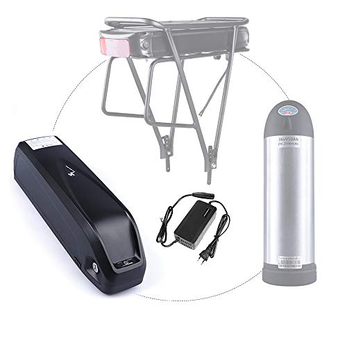 Junstar Batería eléctrica para Bicicleta batería de polímero de Litio de 36V batería Recargable de para Bicicleta eléctrica