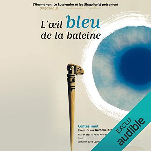 L'œil bleu de la baleine cover art