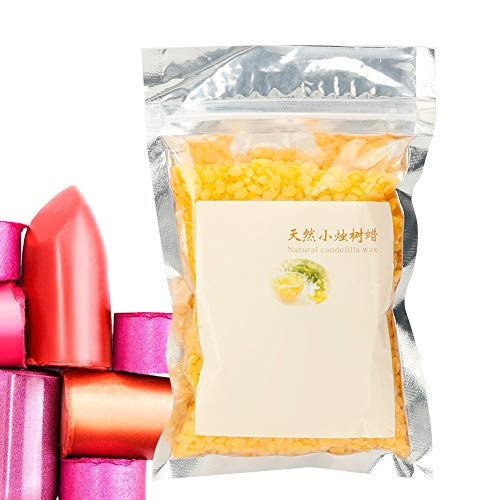 Natural Candelilla Wax, DIY Manual Lipstick And Lip Balm Cosmetic Material, Vegetable Wax(01)