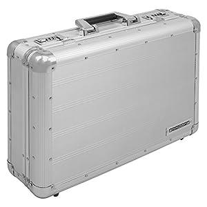 anndora Aktenkoffer Aluminium Attaché Koffer Silber - Zahlenschloss abschließbar