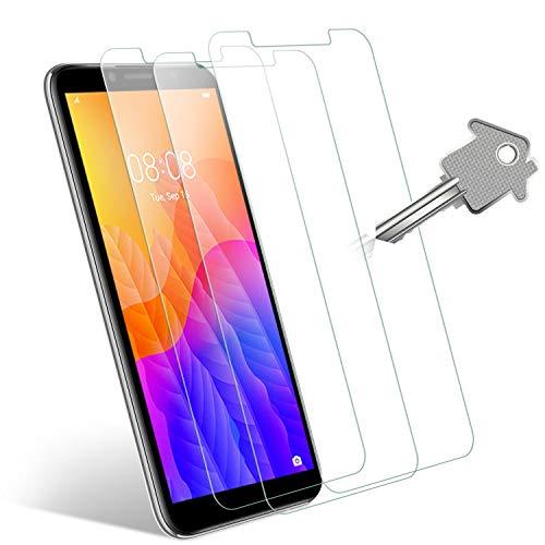 Wonantorna Pellicola Protettiva per Huawei Y5p/Honor 9S Vetro Temperato, [3 Pezzi] [9H Durezza] [Alta Definizione] [No Bolle] [Installazione Facile] Pellicola Vetro per Huawei Y5p/Honor 9S