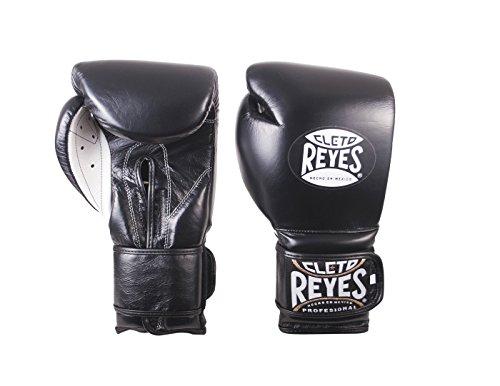 Cleto Reyes - Guanti da allenamento con gancio e anello, colore: nero, 396,9 g