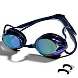 Swimming Goggles Professional Swim Goggles Anti Fog UV Protection No Leaking for Adult