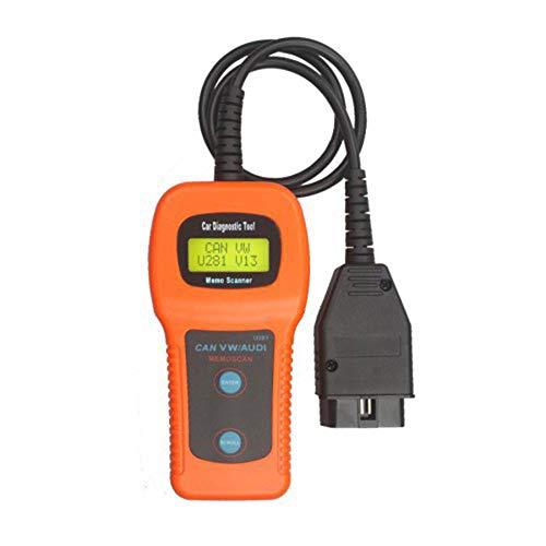 Yourshops Mini-VCI Car OBD U281 CAN VW Audi Memo Scanner for Volkswagen Audi Reader Card Vehicle Detector 1Set