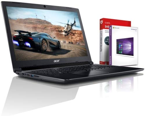 Acer Ultra i7 SSD Gaming (17,3 Zoll Full-HD) Notebook (Intel Core i7 10510U mit 4.90 GHz, 20GB DDR4, 1000 GB SSD, NVIDIA Geforce MX 250 GDDR5, DVDR/RW, HDMI, Windows 10, MS Office) #6459