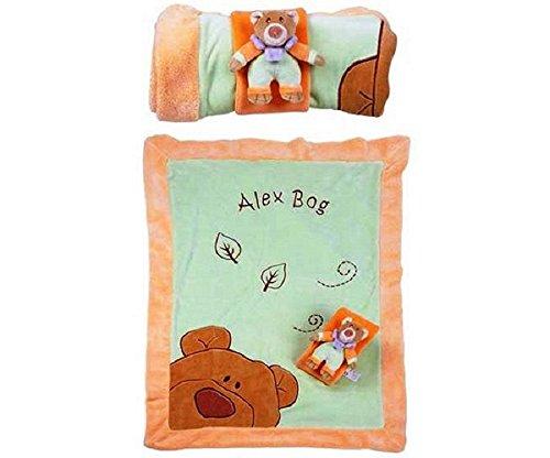 Couverture Ourson pour lit de bébé