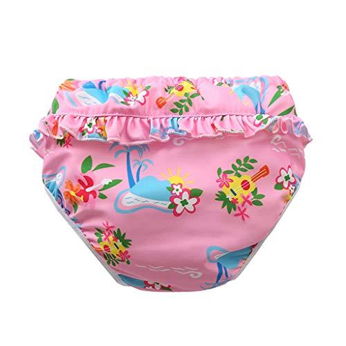 sunnymi - Bañador para bebé, 0 – 3 años, para niños pequeños y niñas, pañales reutilizables, ajustables para clases de natación l 18-24 Meses