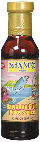 Minatos, Sauce Poke Hawaiian Style, 12 Fl Oz