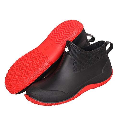 Aitaobao Stivali da Pioggia per Donna Uomo Wellies Stivaletti Impermeabile Antiscivolo Stivali di Gomma Stivaletti da Chelsea