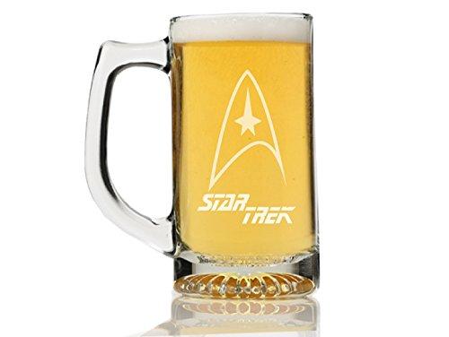 Star Trek - Next Generation Emblem - Beer Mug