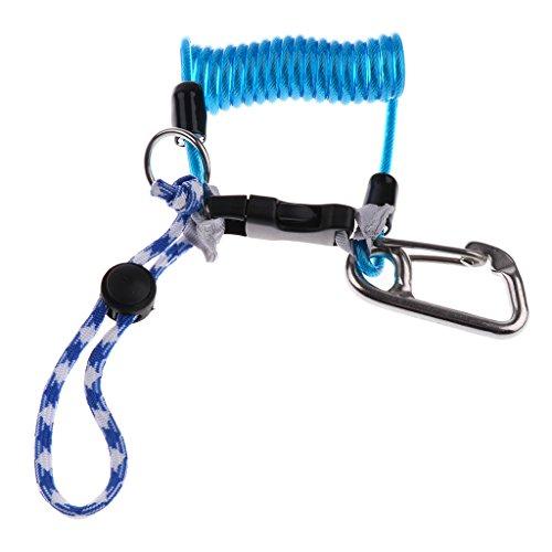 Sharplace Tauchseil Kamera Handschlaufe Armbänder für Unterwasserkamera Action Cam Handy Camcorder für Tauchen, Klettern im Freien, Unterwasserfotografie - Blau
