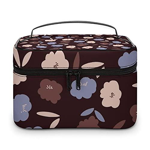 Bonita bolsa de aseo impermeable, bolsa de viaje con cremallera, organizador de maquillaje, bolsa de maquillaje para aparador, baño, hombres y mujeres, Blanco-estilo-2, 25x18x15cm,