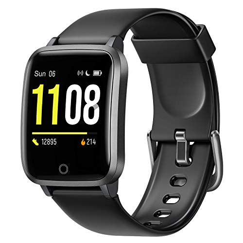 Photo of Letsfit High-End Fitness Trackers, Smart Watch with Heart Rate Monitor, 1.3 Inch Color Screen Step Counter Smartwatch with Pedometer, IP68 Waterproof Calorie Counter Sleep Monitor for Women Men