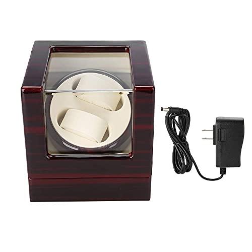 WBJLG Caja enrolladora de Reloj automática, Soporte de Reloj de Pulsera para exhibición con Motor silencioso, Almohada de Felpa Flexible para muñecas de Hombres y Mujeres