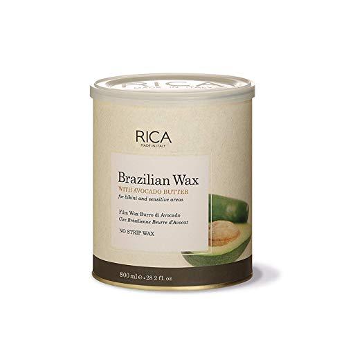 Rica Brazilian Wax with Avocado Butter for Bikini and Sensitive Areas (800 ml)