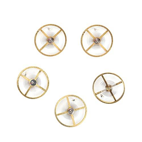 Rueda de equilibrio de reloj, piezas de movimiento de reloj de aleación Accesorios de reloj convenientes para movimiento 8205 para taller de reparación de relojes para relojeros