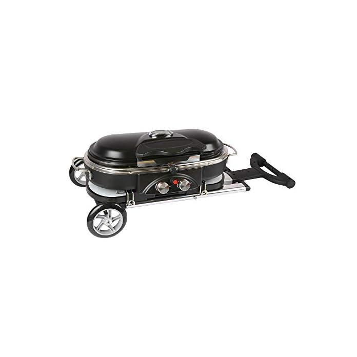 Mayer Barbecue Zunda Gasgrill Mgg 102 Pro Mit Klappwagen