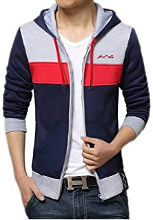 AWG - All Weather Gear Men's Cotton Hoodie Sweatshirt with Zip