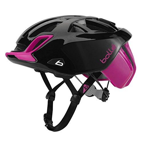 bollé - Casco de Ciclismo estándar One Road, Unisex, Color Negro/Rosa, tamaño...