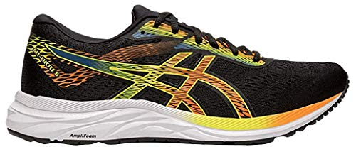 ASICS Men's Gel-Excite 6 Running Shoes, 12M, Black/Shocking Orange