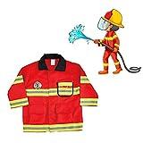 Terynbat Ropa de extinción de incendios para niños, disfraces de festival, accesorios para niños COSPLAY