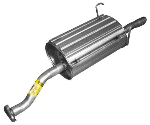 Exhaust Muffler Assembly-Quiet-Flow SS Muffler Assembly Walker 54600