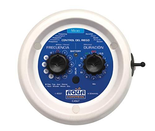 Aqua Control C4067 Kit Autónomo Programable, con Programador, Bomba y Accesorios para un Riego Automático y sin Grifo, Gris