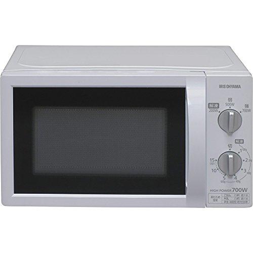 【東日本 50Hz専用】アイリスオーヤマ 電子レンジ 17L ターンテーブル ホワイト IMB-T174-5