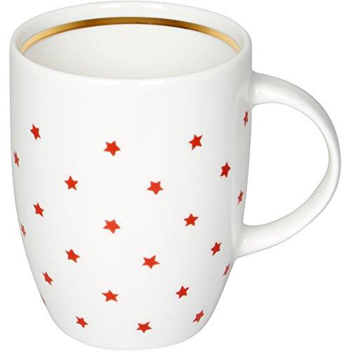 Spiegelburg 14436 Geschenkset Tasse & Tee 'Rote Sterne' Eine kleine Freude