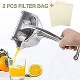 SHANGPEIXUAN Manual Fruit Juicer Alloy Lemon Squeezer Citrus Press...