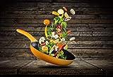 LYWUSUZE Adulte Puzzle 1500 Pièces Bois Puzzle Wok Aux Légumes Adulte Jeu Enfant...