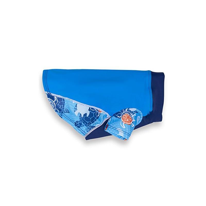 dog supplies online playapup dog sun shirt (upf 50+), flaming blue tuga, 4x-large