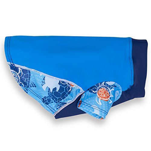 PlayaPup Dog Sun Shirt (UPF 50+), Flaming Blue...