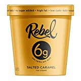 Rebel Ice Cream - Low Carb, Keto - Salted Caramel (8 Count)