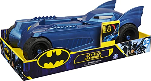 Batman 6055297- Batmóvil para personajes de 30 cm, a partir