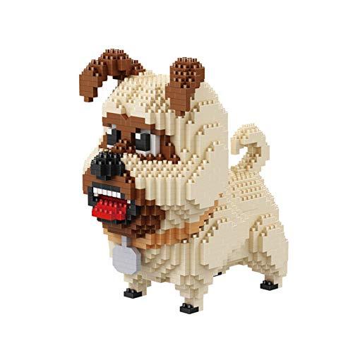 Dog Cartoon Dog Model Mini Diamond Micro Building Block Brick Toys for Children Gifts Dog Pets