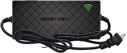 N\C Cargador De Batería 36V 4A Cargador De Batería De Bicicleta Eléctrica Cargador De Batería Paquete De Litio Paquete Cable De Alimentación, Protección contra Sobrecalentamiento (Size : F)
