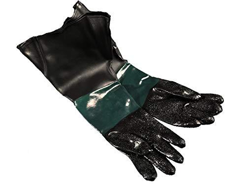 1 Paar Handschuhe für Sandstrahlen 600 mm geeignet für SBC 220, 350, 420 oder 990