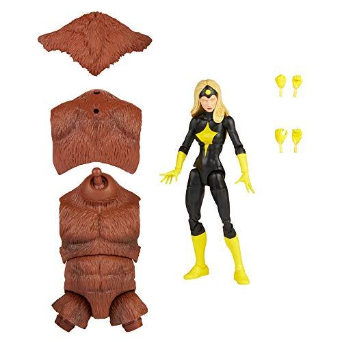 """Hasbro Marvel Legends Series Marvel, Action Figure Darkstar 15cm con Design e articolazioni di Alta qualità, Include 2 Accessori e 1 Elemento """"Crea Un Personaggio"""", Multicolore, F2590"""